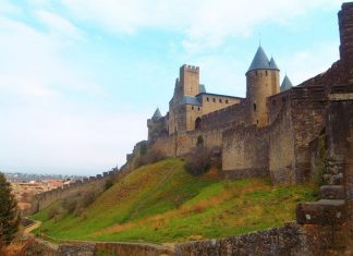 Carcassonne is one of the most picturesque walled cities in Europe