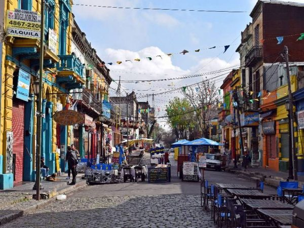While the colourful La Boca area of Buenos Aires is often called gimmicky, touristy and not the part of town you would be likely to spend the night, it's certainly worthy of wandering around for few hours of your time.