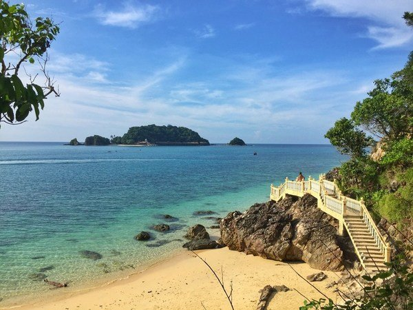 Malaysia's beautiful Kapas Island is the perfect escape from a busy lifestyle